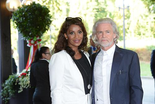 Schauspielerin LIz Baffoe mit Unternehmer Hermann Buehlbecker al (DSC_4276)