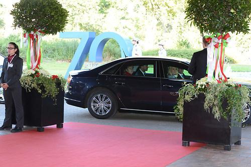 Ankunft der deutschen Bundeskanzlerin Dr. Angela Merkel in Ihrer (DSC_4294)