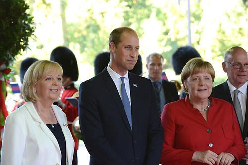 Gruppenbild der deutschen Bundeskanzlerin Dr. Angela Merkel mit  (DSC_4334)