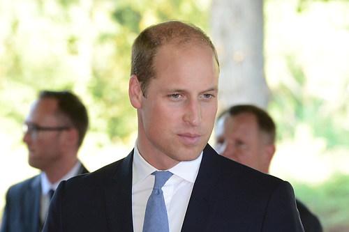 Der britischen Thronfolgers Prinz William im Portraet beim Festa (DSC_4345)