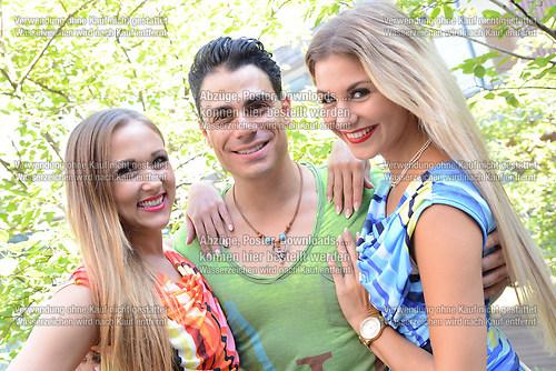 Stefanie Schanzleh die Saengerin der Musikgruppe Hot Banditoz be (DSC_5183)