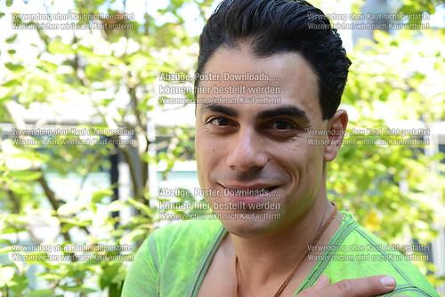 Silva Gonzalez der Saenger und Musiker der Gruppe Hot Banditoz i (DSC_5217)