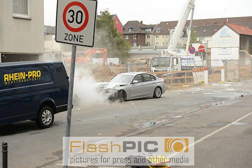 Stunt einer Verfolgungsjagd durch die Innenstadt bei den Dreharb (DSC_6454)