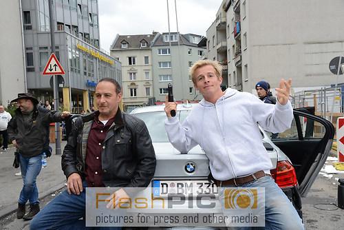 Die beiden Kommissare Erdogan Atalay und Daniel Roesner vor Ihre (DSC_6533)