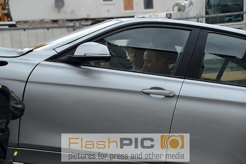 Erdogan Atalay und Daniel Roesner in Ihrem Auto am Haken bei de (DSC_6578)