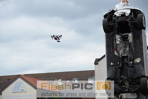 Einsatz einer Kameradrohne bei RTL Dreharbeiten zur Serie Alarm  (DSC_6596)