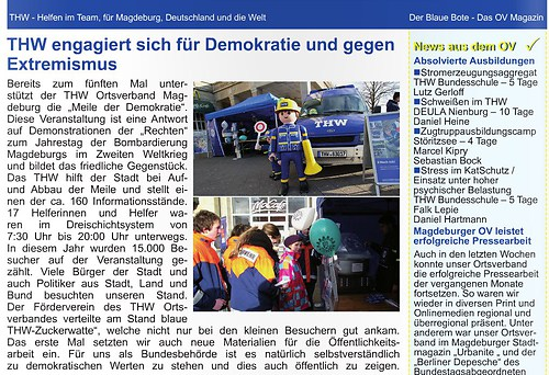 Der Blaue Boote - THW Magdeburg_8636103659_o