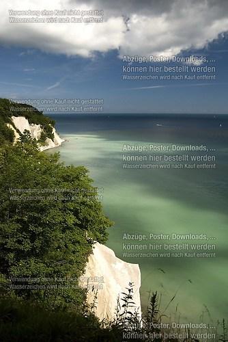 Blick von den Wissower Klinken zur Ernst-Moritz-Arndt-Sicht