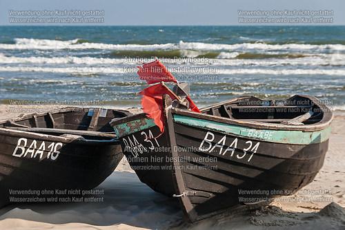 Fischerboote am Baaber Strand II