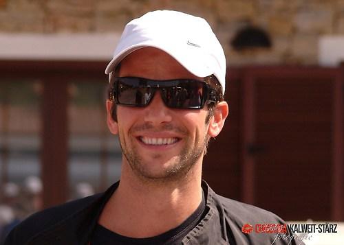 Christian Oliver, bekannt auch aus Alarm für Cobra11, fotografiert auf der Rennstrecke Asc