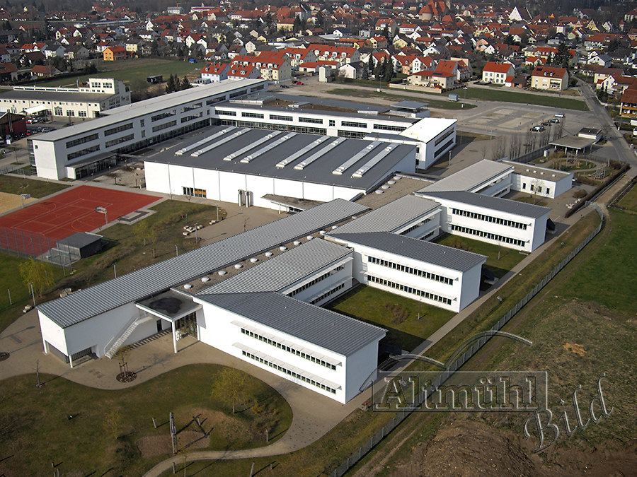 IMGP0416   Gymnasium Beilngries   luftbild, luftaufnahme, schule, gymnasium, beilngries, neubau, s
