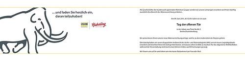 Haberling | Einladungskarte (innen)