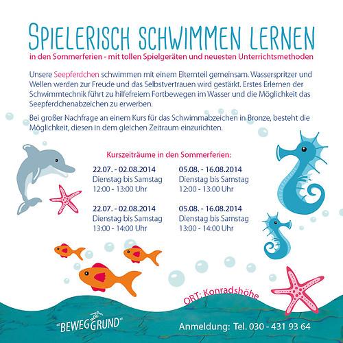 GST | Flyer - Ferienschwimmen (Rückseite)