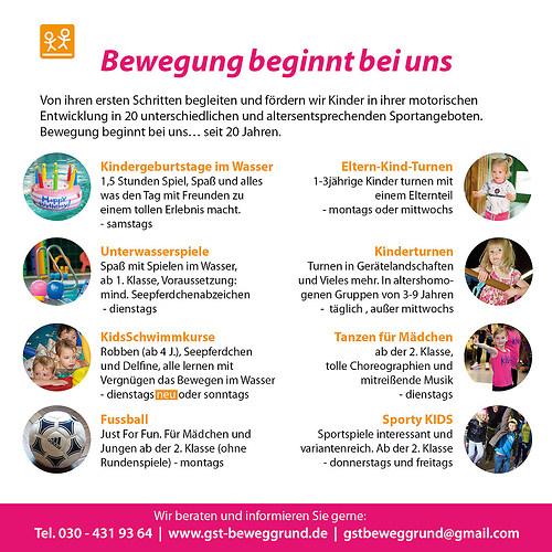 GST | Kids Imageflyer (Rückseite)