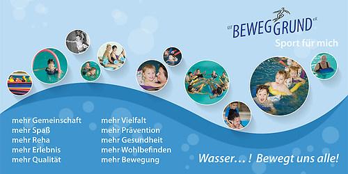 GST | Schwimmbad Banner