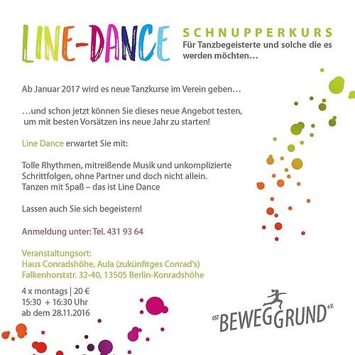 GST | Grafik Line Dance Flyer | Rückseite