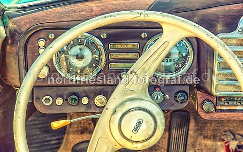 Oldtimer Cockpit Auto Union_FB