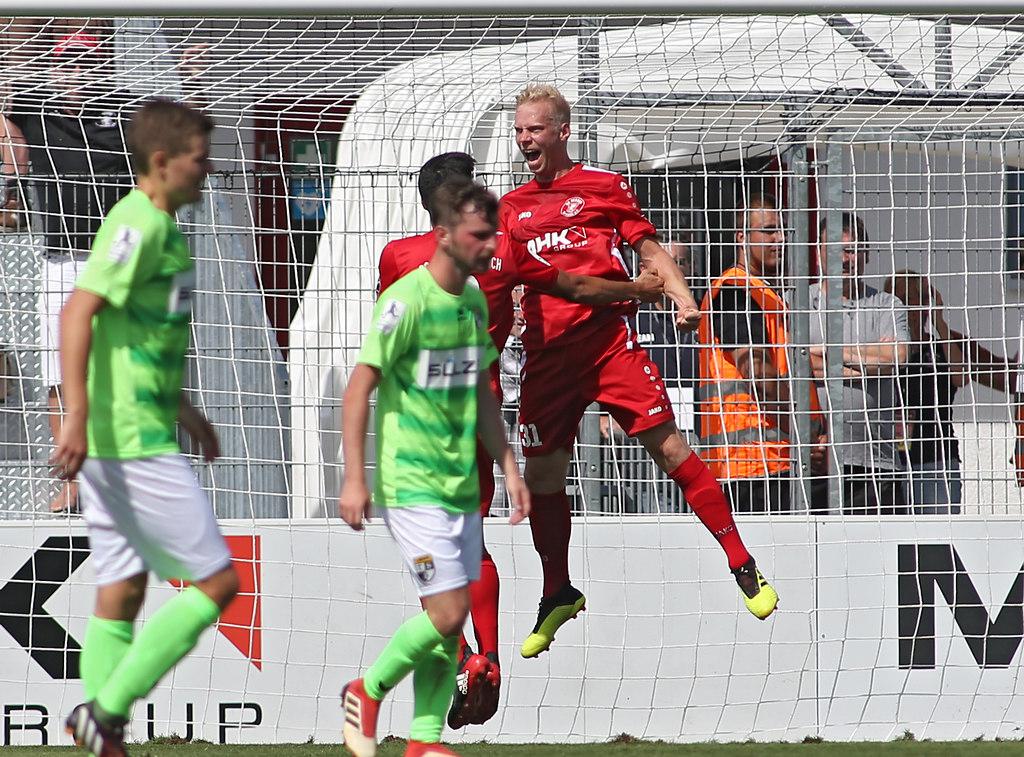 1808012DRERBAL9541 | 12.08.2018, xxx, Dreieich, Hahnair Sportpark,  Regionalliga Suedwest,  Saison 2018/2019, SC... | Fussball