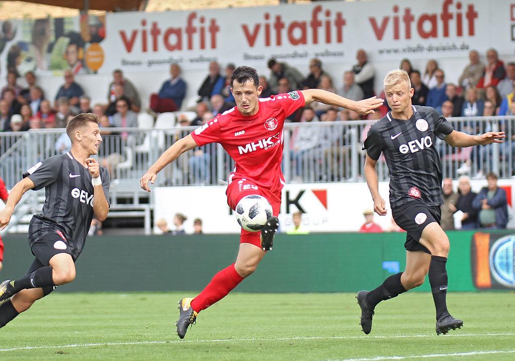 180825DREOFC9779 | 25.08.2018, xxx, Dreieich, Hahnair Sportpark,  Regionalliga Suedwest,  Saison 2018/2019, SC... | Fussball