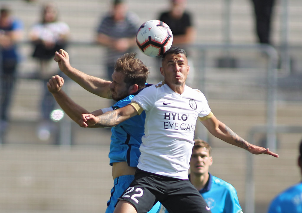 180915ELVDRE 10173 | 15.09.2018, xxx, Elversberg, URSAPHARMA-Arena,  Regionalliga Suedwest,  Saison 2018/2019, SV... | Fussball
