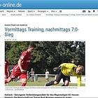 180702 OP Online Hessen Dreieich Test FC Kalbach