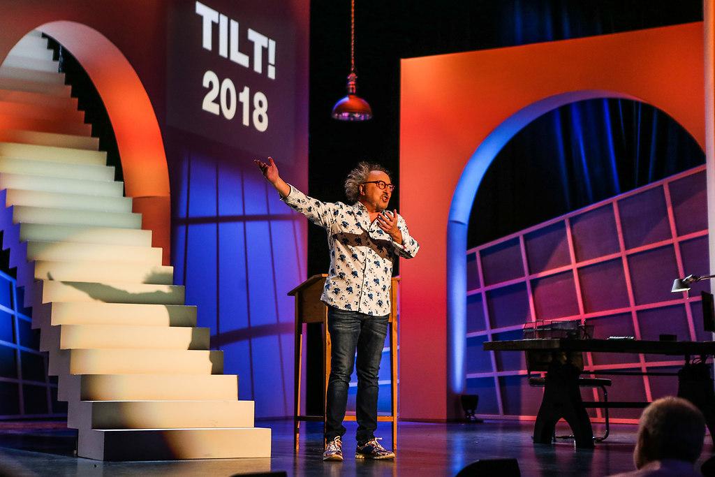 181218UrbanPriol 63   18.12.2018, xxx, Capitol Offenbach, Urban Priol TILT! Tschuessikowski 2018, Kabarettist,...   Comedy, Kabarettist