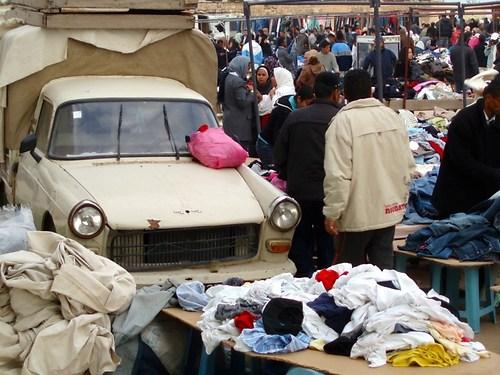 Djerba kleidermarkt