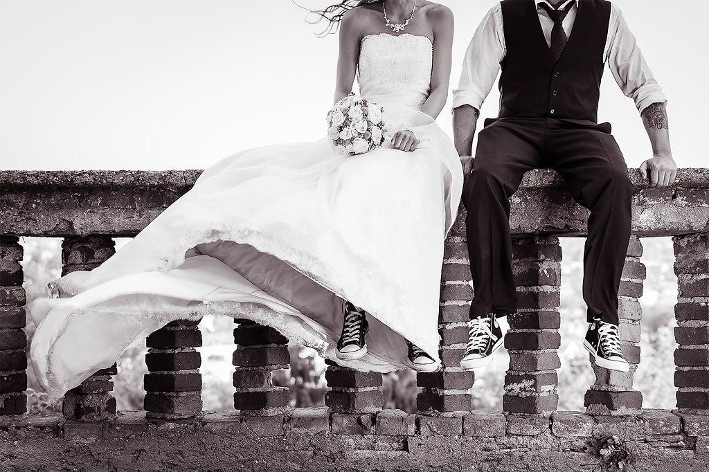 | ... das coolste Brautpaar welches ich je bei einer Hochzeit begleiten durfte | Hochzeitsfotograf, Cadillac