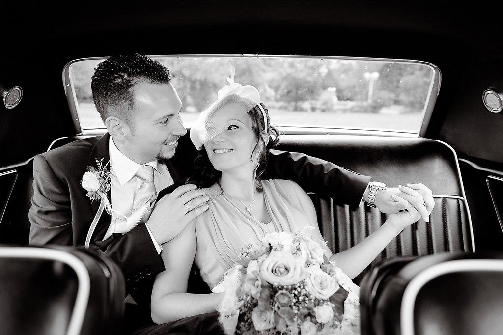 | ... im Cadillac zur Trauung | Cadillac, Hochzeitsfotograf