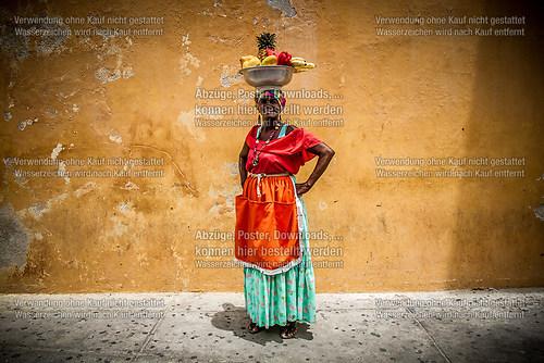 Palenquera en Cartagena de Indias - 2