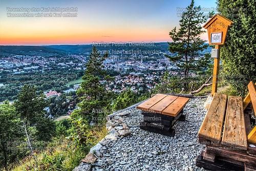 Jena - Aussichtspunkt Falkenhorst
