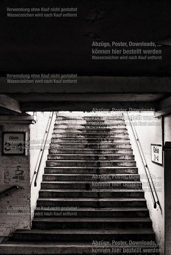 1993 | Bad Kleinen | Tunnelaufgang zu Bahnsteig 3 und 4