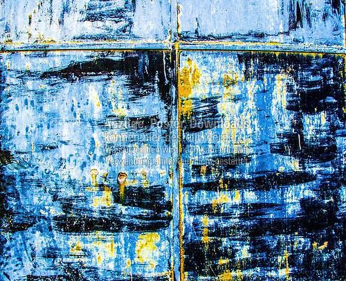 San Gimignano blau