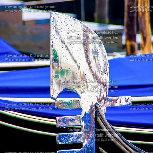 Venedig und Gondeln