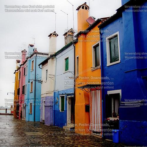 Häuser in Burano