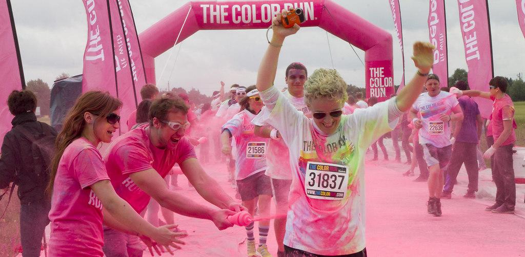 The Color run München 2013 (_MG_6841schmal) | The Color Run, Die Premiere der durch Deutschland tourenden Veranstaltungsreihe im Münchner Buga... | 5 km, Buga Park, Color Run, Familienlauf, Laufen, Lauffest, München, Soprt, Sportfest