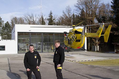 Tag der Flugrettung - Besuch beim Helikopter Standort München H (_MG_3909)