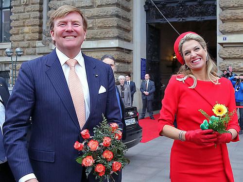Königspaar in Hamburg