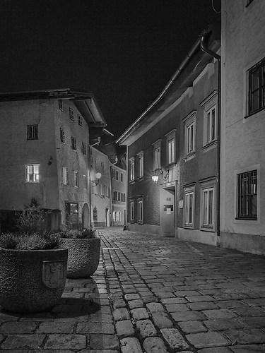 73_Schatteiner Robert_Hallein bei Nacht