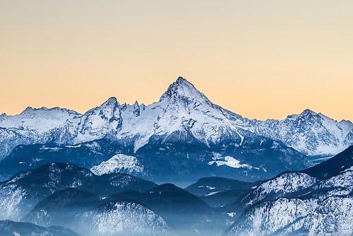 98_Schütz Friedrich_Watzmann im Winter