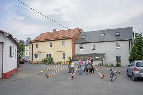 """""""Big Horns"""" Musikfestival Stelzen, Stelzen bei Reuth, 2009"""