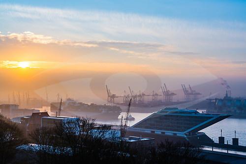 """""""Hamburg Harbour IV"""" (ZETT_hh_8338-2)"""