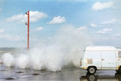 """""""Neulich, in Rimini"""" Rimini, Italy, 1991; Analoge Fotografie"""
