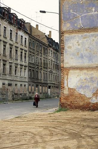 """""""Landschaft, nicht blühend"""" Leipzig, 1995; Analoge Fotografie"""