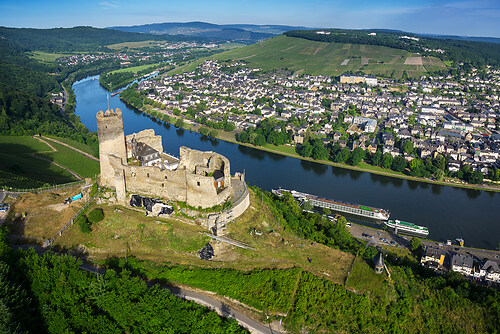 Baustellendokumentation Burg Landshut
