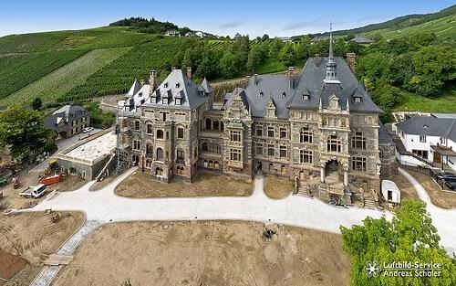 Baustellendokumentation Schloss Lieser
