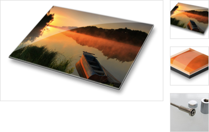 Produktkategorie Echtfoto hinter Acrylglas