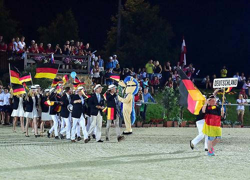 Einmarsch Euro Deutschland