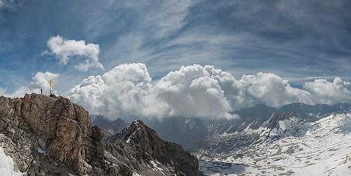 Zugspitze - Gipfelkreuz