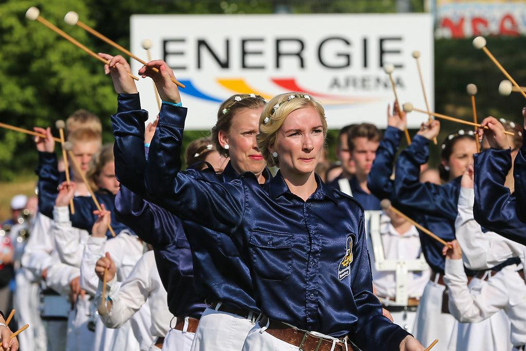 Strausberg,Energiearena,25. Fanfaronade,Fanfarenzug,2015 (P_614901-1)
